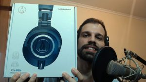 Unboxing the ATH-M50x Headphones