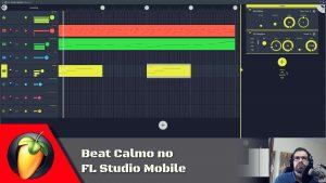 Beat Calmo no FL Studio Mobile
