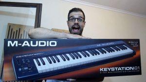 M-Audio Keystation 61 Review em Português