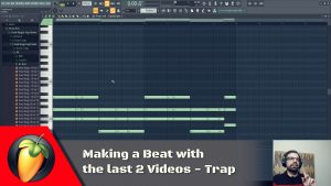 Making a Beat With The Last 2 Videos
