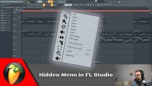 Hidden Menu In FL Studio