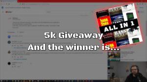 5k Giveaway Winner