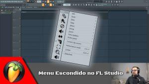 Menu Escondido no FL Studio